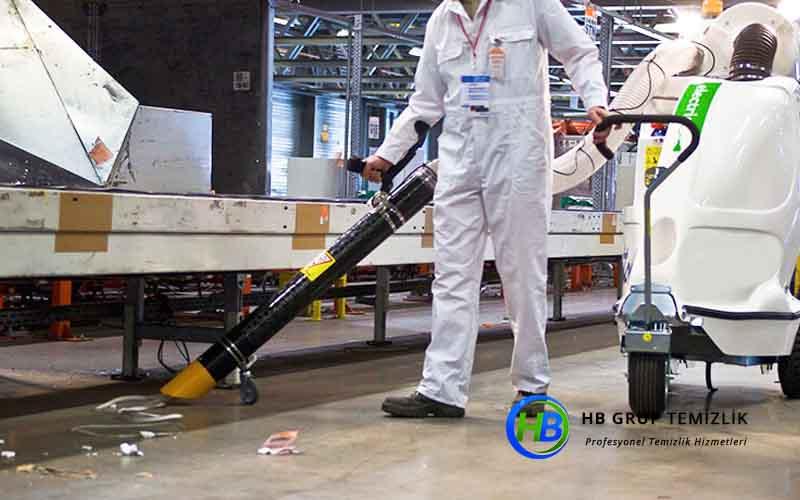 Endüstriyel Firma Temizliği