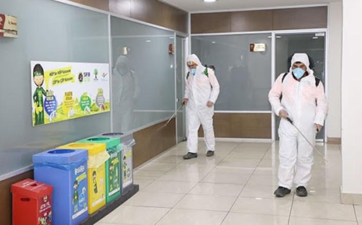 Dezenfeksiyonlu Temizlik